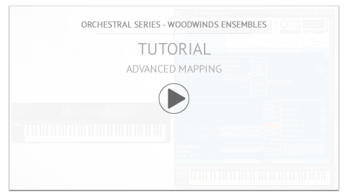 Video Tutorial: Woodwinds Ensembles Tutorial: Advanced Mapping