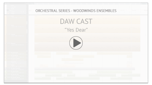 "Video Tutorial: Woodwinds Ensembles DAW CAST:  ""Yes Dear"""